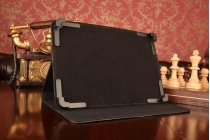 Чехол-обложка для планшета Teclast X10HD с регулируемой подставкой и креплением на уголки