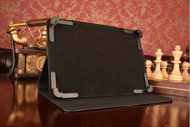 Чехол-обложка для планшета Cube i16 с регулируемой подставкой и креплением на уголки