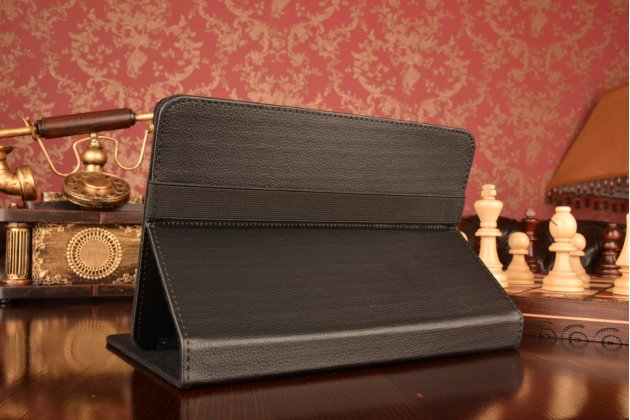 Чехол-обложка для планшета Mystery MID-713G с регулируемой подставкой и креплением на уголки