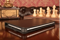 Чехол-обложка для планшета Аксессуары для HP TouchPad с регулируемой подставкой и креплением на уголки