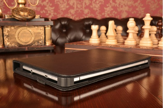 Чехол-обложка для планшета Lenovo Ideatab A7600/A10-70 с регулируемой подставкой и креплением на уголки