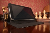 Чехол-обложка для планшета IrbisTX70 с регулируемой подставкой и креплением на уголки
