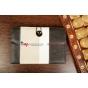 Чехол-книжка для планшета с диагональю 7.0 дюймов черный натуральная кожа