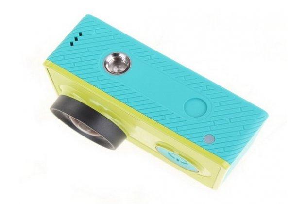 Фирменная оригинальная портативная спортивная экшн-камера Xiaomi Yi Action Camera Basic Edition водонепроницаемая беспроводная. Цвет в ассортименте.