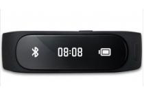 Фирменный оригинальный спортивный умный смарт-фитнес браслет Huawei TalkBand B1 черный