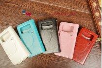 Чехол-книжка для Samsung Galaxy S Duos GT-S7562 кожаный. Цвет на выбор