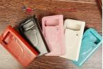 Чехол-книжка для HTC Desire 600 Dual Sim черный кожаный