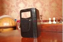 Чехол-книжка для Samsung Galaxy Premier GT-i9260 черный кожаный