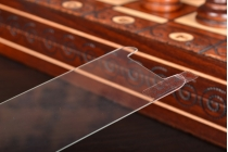 Защитное закалённое противоударное стекло премиум-класса с олеофобным покрытием совместимое и подходящее на телефон Lenovo A806 (A8)