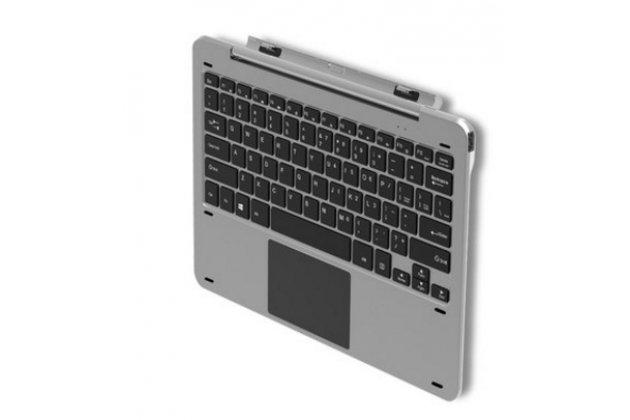 Фирменная оригинальная съемная клавиатура/док-станция для планшета CHUWI Hi 12 серебряная + гарантия