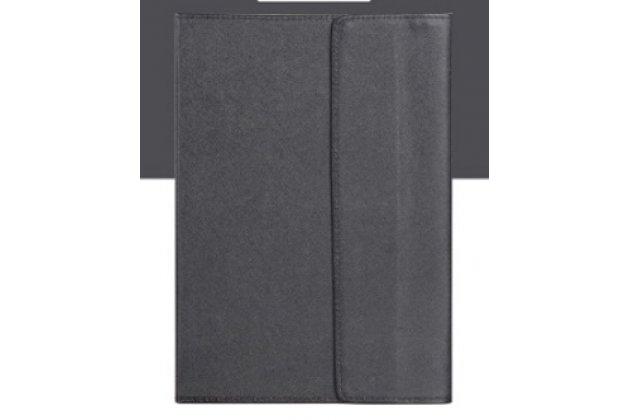 Фирменный чехол 2-в-1 для планшета и клавиатуры CHUWI Hi 12 черный кожаный