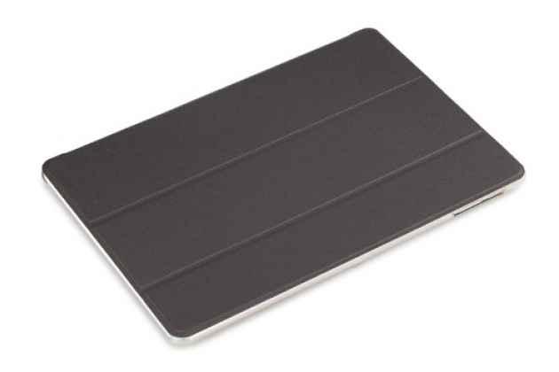Фирменный ультра-тонкий чехол-футляр-книжка для  CHUWI Hi 12 черный пластиковый