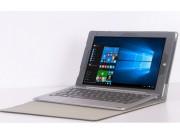 Фирменный чехол 2-в-1 для планшета и клавиатуры CHUWI HiBook / HiBook Pro 10.1 черный кожаный..