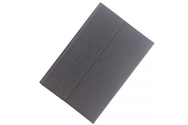 Фирменный чехол 2-в-1 для планшета и клавиатуры CHUWI HiBook / HiBook Pro 10.1 черный кожаный