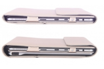 Фирменный чехол 2-в-1 для планшета и клавиатуры CHUWI HiBook / HiBook Pro 10.1 золотой кожаный