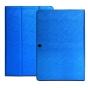 Фирменный чехол-футляр-книжка для  CHUWI HiBook / HiBook Pro 10.1 синий кожаный..