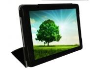 Фирменный чехол-футляр-книжка для CHUWI HiBook / HiBook Pro 10.1 черный кожаный
