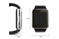 Фирменные оригинальные умные смарт-часы ColMi GT08 в стальном корпусе с силиконовым ремешком