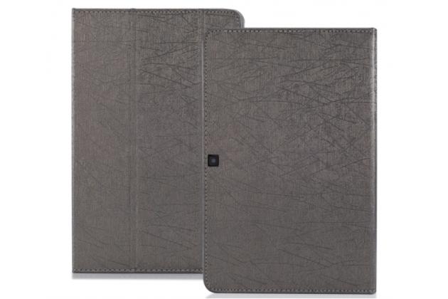 Фирменный чехол-футляр-книжка для Cube Mix Plus черный кожаный