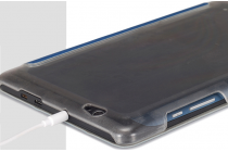 """Фирменный чехол самый тонкий в мире для Cube T8 Ultimate / T8 Plus """"iL Sottile"""" белый пластиковый Италия"""