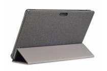 """Фирменный чехол-футляр-книжка для Cube i10 10.6"""" черный кожаный"""