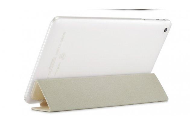 """Фирменный ультра-тонкий чехол-футляр-книжка для Cube iWork8 Air (U82GT) 8.0"""" белый пластиковый"""
