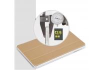 """Фирменный ультра-тонкий чехол-футляр-книжка для Cube iWork8 Air (U82GT) 8.0"""" золотой пластиковый"""