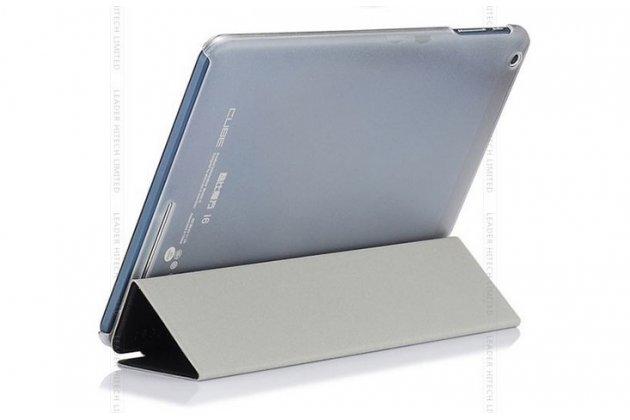 """Фирменный ультра-тонкий чехол-футляр-книжка для Cube i6 9.7"""" черный пластиковый"""