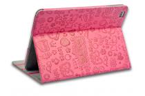 """Фирменный чехол-футляр для Cube Talk 9X 9.7"""" (U65GT) """"тематика Pretty Cute"""" красный кожаный"""