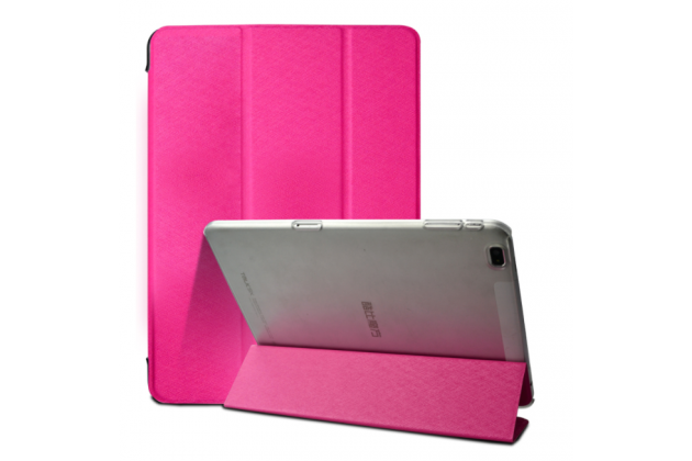 """Фирменный умный чехол самый тонкий в мире для Cube Talk 9X 9.7"""" (U65GT)"""" iL Sottile розовый пластиковый"""
