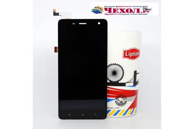 Фирменный LCD-ЖК-сенсорный дисплей-экран-стекло с тачскрином на телефон DOOGEE DG850 Hitman черный