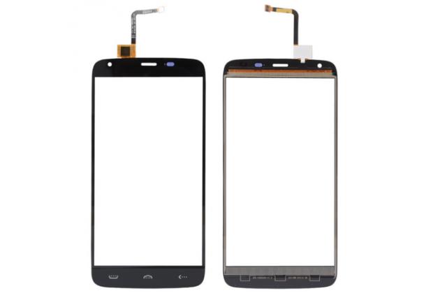 Фирменное сенсорное стекло-тачскрин на DOOGEE Homtom HT6  черный и инструменты для вскрытия + гарантия