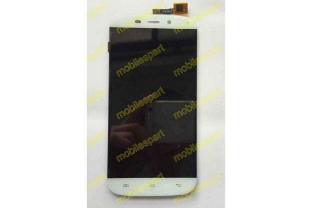 Фирменный LCD-ЖК-сенсорный дисплей-экран-стекло с тачскрином на телефон Doogee Nova Y100Xчерный + гарантия