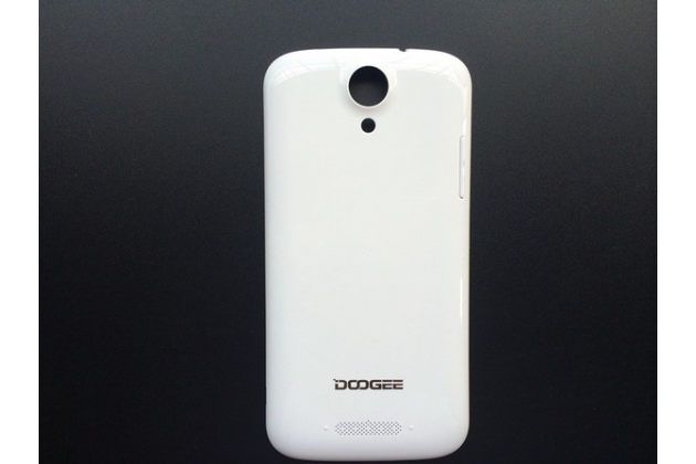 Родная оригинальная задняя крышка-панель которая шла в комплекте для DOOGEE NOVA Y100X Pro белая