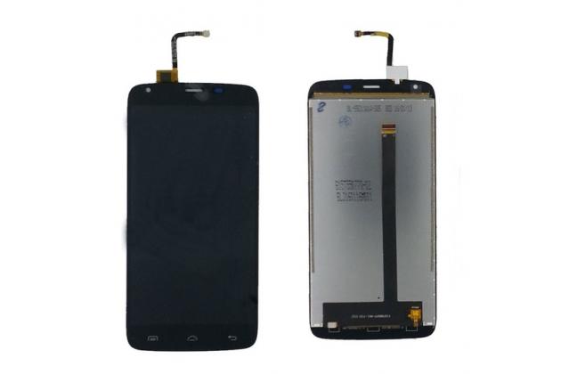 Фирменный LCD-ЖК-сенсорный дисплей-экран-стекло с тачскрином на телефон DOOGEE T6 черный
