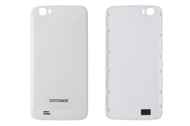 Родная оригинальная задняя крышка-панель которая шла в комплекте для DOOGEE T6 белая