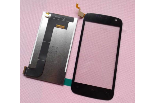 Фирменный LCD-ЖК-сенсорный дисплей-экран-стекло с тачскрином на телефон DOOGEE X3 черный