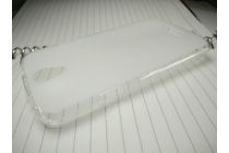 Фирменная ультра-тонкая полимерная из мягкого качественного силикона задняя панель-чехол-накладка для DOOGEE X6/ X6 Pro белая