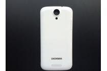 Родная оригинальная задняя крышка-панель которая шла в комплекте для DOOGEE Y100 Plus белая