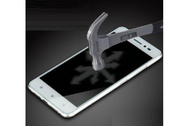 Фирменное защитное закалённое противоударное стекло премиум-класса из качественного японского материала с олеофобным покрытием для Doogee DG700
