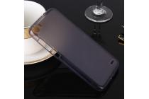 Фирменная ультра-тонкая полимерная из мягкого качественного силикона задняя панель-чехол-накладка для Doogee F3/F3 Pro черная