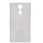 Фирменная ультра-тонкая полимерная из мягкого качественного силикона задняя панель-чехол-накладка для Doogee F..