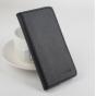 Фирменный чехол-книжка из качественной импортной кожи с подставкой застёжкой и визитницей для Дуги Ф5 черный..