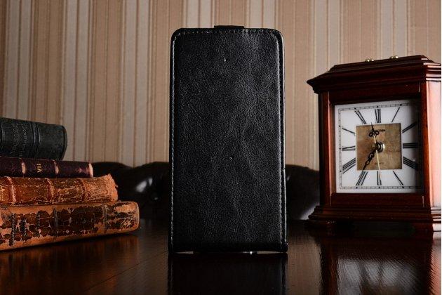 Фирменный вертикальный откидной чехол-флип для DOOGEE Y100 Plus Valencia2 черный