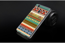 """Фирменная уникальная задняя панель-крышка-накладка из тончайшего силикона для Doogee X5 MAX с объёмным 3D рисунком """"тематика Эклектический узоры"""""""