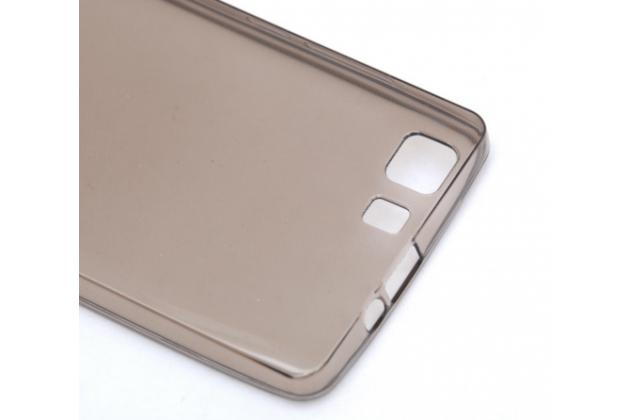 Фирменная ультра-тонкая полимерная из мягкого качественного силикона задняя панель-чехол-накладка для Doogee X5 / X5C / X5 Pro  черная
