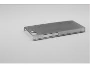 Фирменная задняя панель-крышка-накладка из тончайшего и прочного пластика для Doogee X5 / X5C / X5 Pro черная..