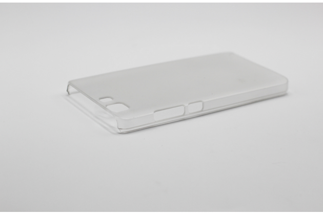 Фирменная задняя панель-крышка-накладка из тончайшего и прочного пластика для Doogee X5 / X5C / X5 Pro белая