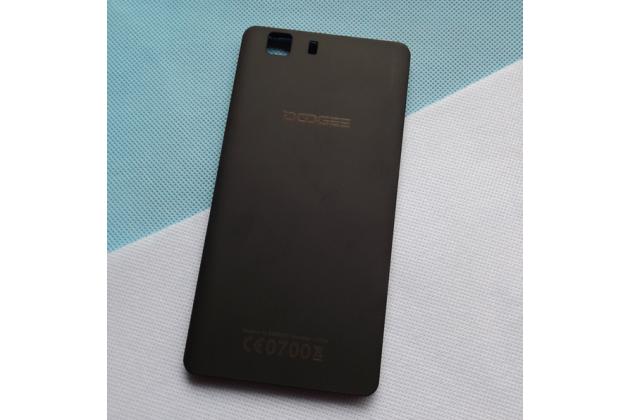 Родная оригинальная задняя крышка-панель которая шла в комплекте для Doogee X5 / X5C / X5 Pro черная