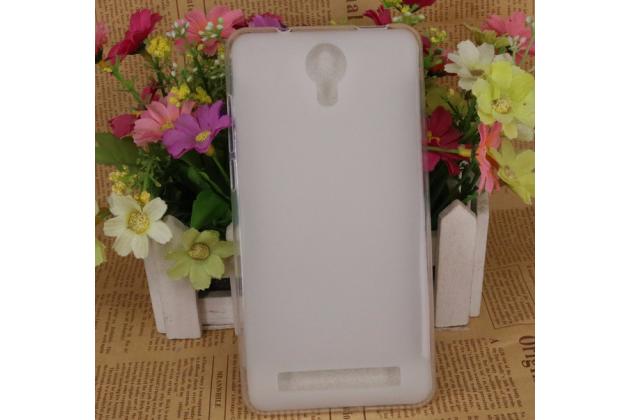 Фирменная ультра-тонкая полимерная из мягкого качественного силикона задняя панель-чехол-накладка для Doogee X7 Pro белая